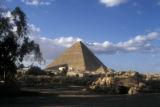 Giza (Egypt), view of Great Pyramid