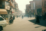 Luxor (Egypt), downtown street