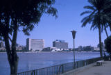 Cairo (Egypt), waterfront along the Nile river
