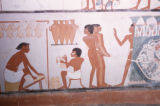 Egypt, ancient wall paintings