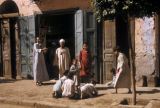 Egypt, children playing on the street