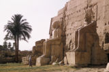 Egypt, colossal statues