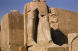 Egypt, colossal statue