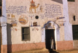 Egypt, home that bears testimony of the owner's pilgrimage  to the Muslim holy city of Mecca