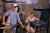 Egypt, metalworking shop