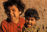 Egypt, portrait of young children