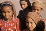 Egypt, portrait of young girls