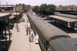 Egypt, train station