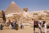 Giza (Egypt), Khufu Pyramid and the Sphinx