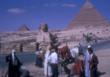 Giza (Egypt), Pyramids of Khafre and Khufu and the Sphinx