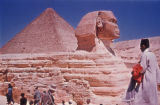 Giza (Egypt), Pyramid of Khafre and the Sphinx