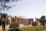 Luxor (Egypt), view of the Temple of Luxor