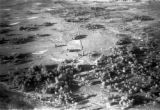 Zambia, aerial view of Copeman farm northwest of Lusaka