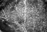 Zanzibar (Tanzania), aerial view of compact residential area of city