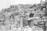 Egypt, ruins of temple at ancient city of Thebes