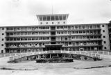 Nigeria, façade of University College Hospital Ibadan