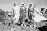 Morocco, nomadic Berber women at camp