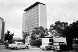 Nigeria, modern bank building in Ibadan
