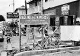 Nigeria, sign for electronics store in Lagos