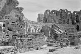 Tunisia, ruins of amphitheatre at El Jem
