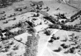 Shinyanga (Tanzania), aerial view of Old Shinyanga, former German fortress