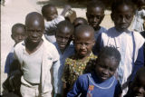 Senegal, group of children