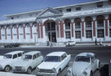 Dakar; cars parked in front of Ministry of Foreign Affairs
