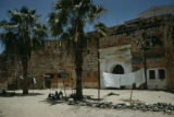 Senegal, fortress on Gorée Island where slave ships were loaded during colonial era