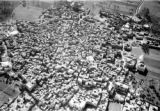 Ṣafṭ al Laban (Egypt), aerial view of town near Cairo