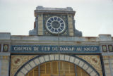 Dakar, detail of railroad station for route to Niger