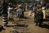 Burkina Faso, firewood for sale at market