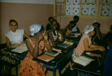 Dakar, girls in the classrooom