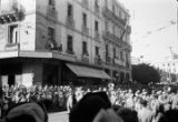 Algeria, military band playing in parade in Oran