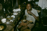 Côte d'Ivoire, goldsmith weighing materials
