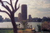 Cairo (Egypt), view of Nile River