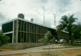 Nigeria, exterior of Africa's first TV station in Ibadan