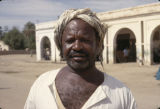 Sudan, portrait of Nilotic man
