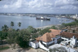 Tanzania, Dar es Salaam harbor and waterfront