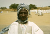 Nigeria, portrait of Muslim man in Kano