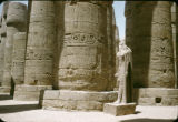 Egypt, ruins of Karnak Temple in ancient Thebes