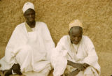 Nigeria, portrait of two Muslim men