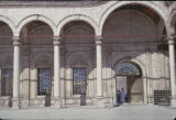 Egypt, cloister at Mosque of Muhammad Ali at Citadel of Cairo