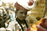 Africa, portrait of Fula girl