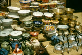 Nigeria, display of import goods