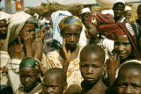 Nigeria, young Fula people at market