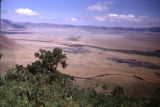 Tanzania, view of lake at Ngorongoro Crater