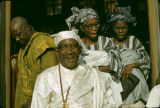 Nigeria, Yoruba people at church