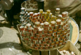 Nigeria, display of canned goods