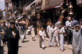 Cairo (Egypt), commercial street in the old city