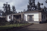 Ethiopia, modern house and garden